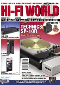 Hi-Fi World – August 2018