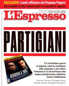 L'Espresso - 24 giugno 2018L'Espresso - 24 giugno 2018