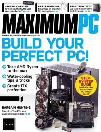 Maximum PC – July 2018 (True PDF)