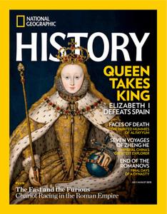 National Geographic History - July 2018
