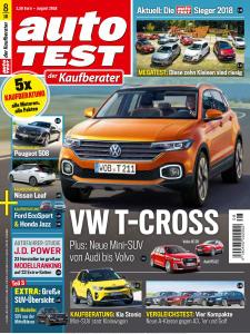 Auto Test Germany - August 2018