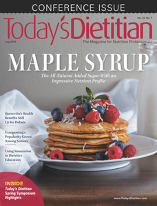 Today's Dietitian – July 2018