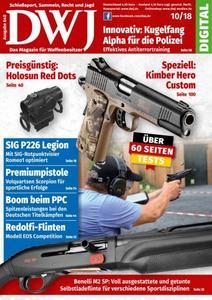 DWJ - Magazin für Waffenbesitzer - Oktober 2018
