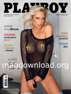 Playboy Slovakia - September 2018