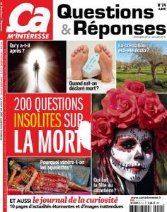 Ça M'Intéresse Questions & Réponses - Novembre 2018 - Janvier 2019