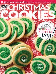 Best of Better Homes & Gardens Christmas Cookies – September 2018