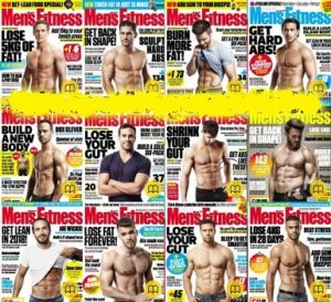 Men's Fitness UK – 2018 Full Year Issues Collection