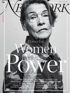 New York Magazine - October 15, 2018
