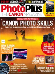 PhotoPlus: The Canon Magazine - November 2018