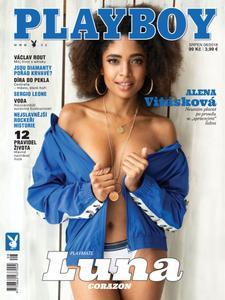 Playboy Ceska republika - srpen 2018