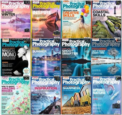 Practical Photography - Full Year Issues Collection 2018