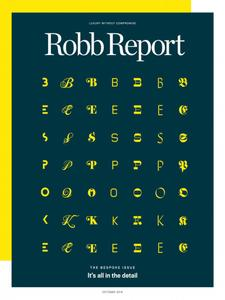 Robb Report USA - October 2018