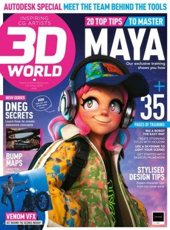 3D World UK - Christmas 2018