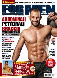 For Men Magazine N.189 - Novembre 2018