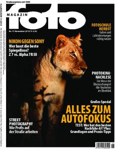 Fotomagazin – Oktober 2018