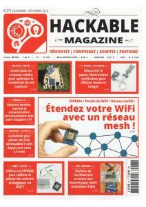 Hackable Magazine - Novembre-Décembre 2018