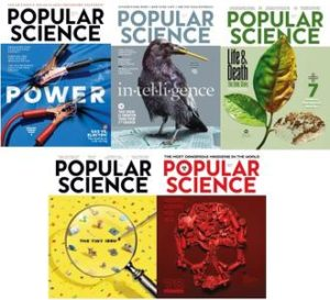 Popular Science USA – Full Year 2018 Collection