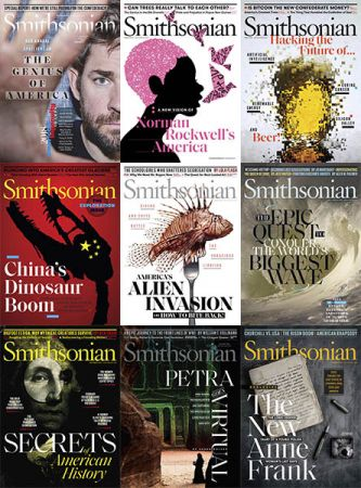 Smithsonian Magazine - Full Year Collection Issue 2018
