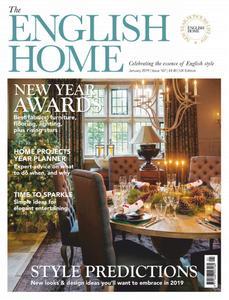 The English Home - January 2019