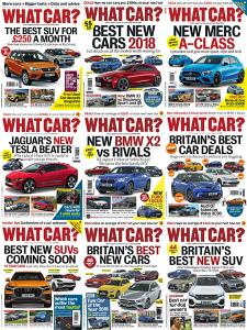 What Car UK - Full Year Issues Collection 2018