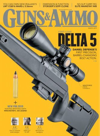 Guns & Ammo – March 2019