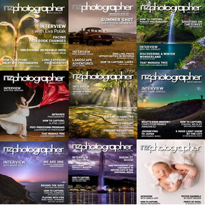NZPhotographer – 2018 Full Year Issues Collection