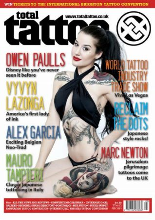 Total Tattoo – Issue 172 – February 2019