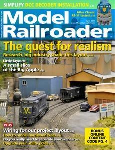 Model Railroader – April 2019