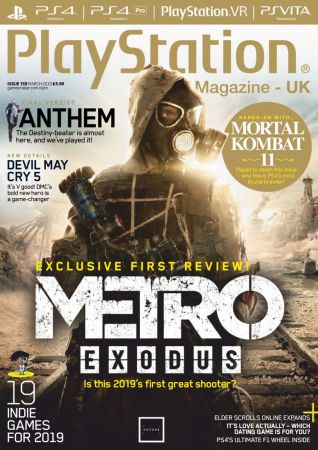 PlayStation Official Magazine UK – March 2019