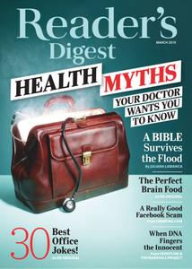 Reader's Digest USA – March 2019