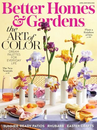 Better Homes & Gardens USA – April 2019