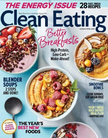Clean Eating – March/April 2019