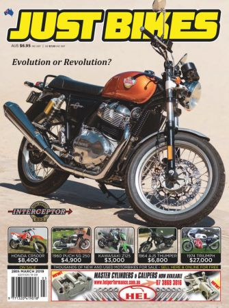 Just Bikes – March 2019