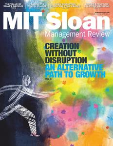 MIT Sloan Management Review – April 2019