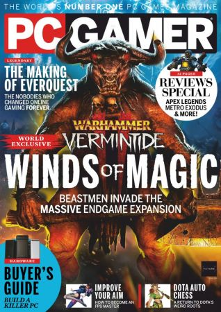 PC Gamer UK – April 2019
