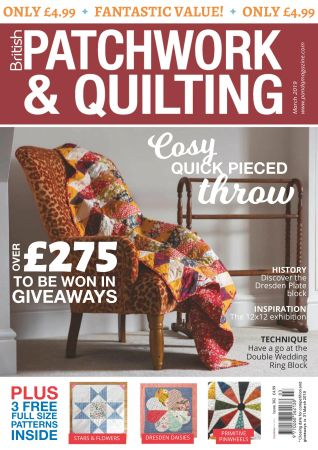 Patchwork & Quilting UK – March 2019