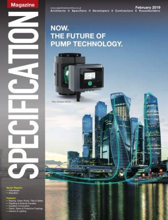 Specification Magazine – February 2019