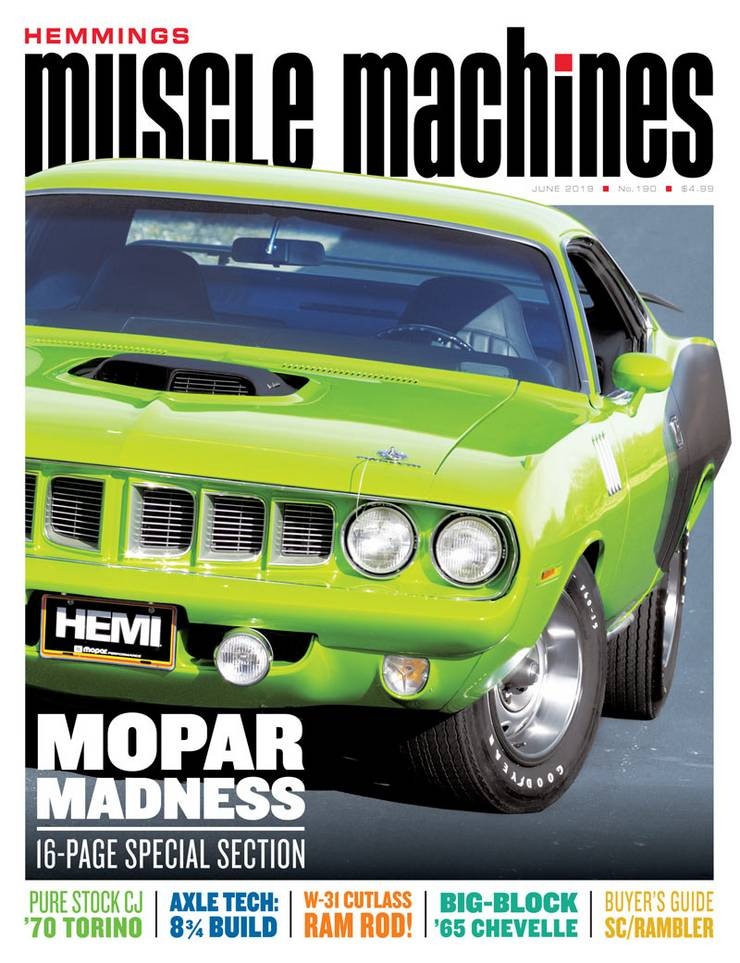 Hemmings Muscle Machines – June 2019