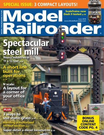 Model Railroader – June 2019