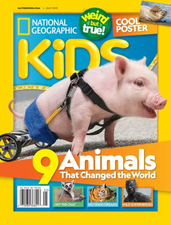 National Geographic Kids USA – May 2019