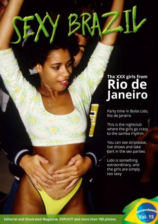 Sexy Brazil Editorial Photo Magazine – April 2019