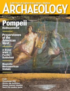Archaeology – July-August 2019