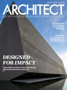 Architect Middle East – June 2019