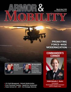 Armor & Mobility – March-April 2019