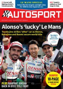 Autosport – 20 June 2019