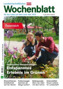 Bayerisches Landwirtschaftliches Wochenblatt Oesterreich – 06. Juni 2019