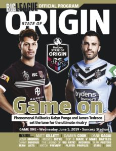 Big League- NRL State of Origin – May 2019