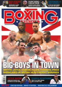 Boxing Monthly – July 2019