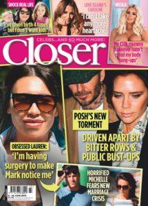 Closer UK – 12 June 2019