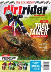 Dirt Rider Downunder – April-May 2019